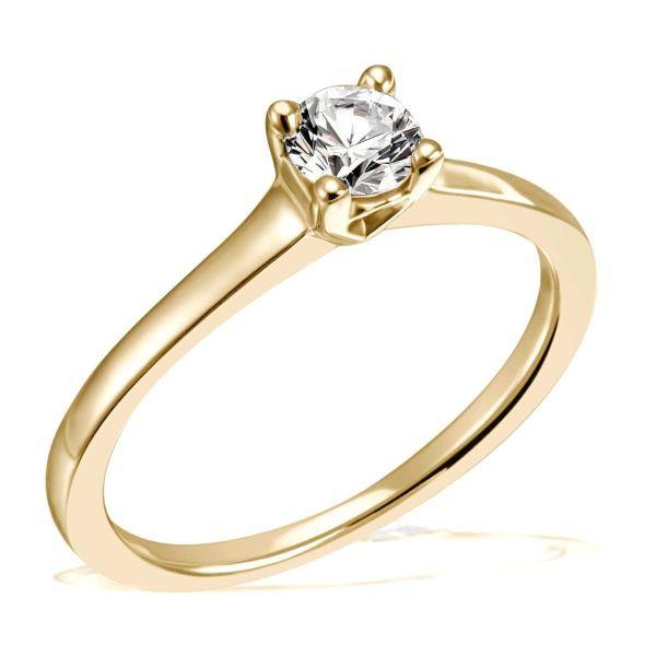 Jana Ring 585/- Gelbgold 0,25/ 0,30/ 0,40 ct. VS/G