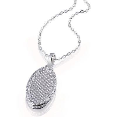Collier Halskette Silverdream 925 Sterlingsilber 66 Zirkonia weiß