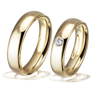 Trauringe Sofia - Eheringe Hochzeitsringe Freundschaftsringe