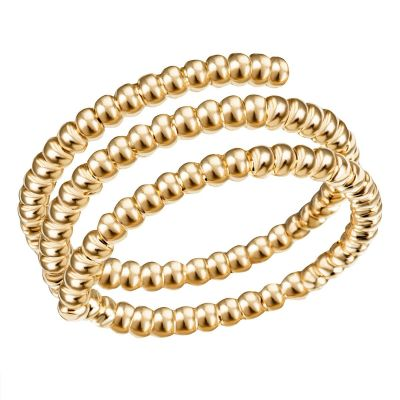 Damenring Glamour 375 Gelbgold Ringweite flexibel anpassbar
